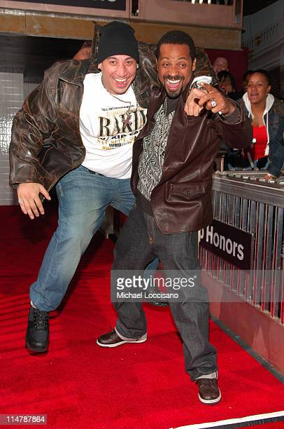 Kid Capri and Mike Epps during 2006 VH1 Hip Hop Honors Red Carpet at Hammerstein Ballroom in New York City New York United States