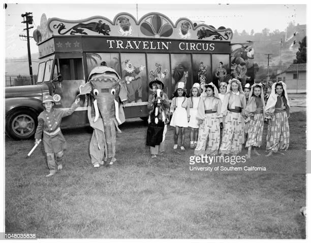 Kid Circus June 20 1951 Jimmis McIntyreDavid RamsdellLaverne GallowayDonna JohnstonJoy MackeyMargaret ArmijoBobby YatesRichard O'BrienMary Esther...