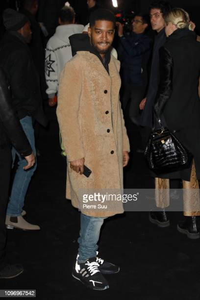Kid Cudi arrives at the Dior Homme Menswear Fall/Winter 20192020 show as part of Paris Fashion Week on January 18 2019 in Paris France