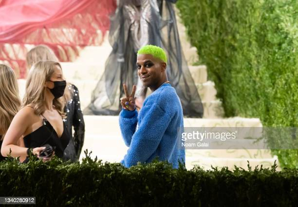 Kid Cudi attends the 2021 Met Gala celebrating 'In America: A Lexicon of Fashion' at The Metropolitan Museum of Art on September 13, 2021 in New York...
