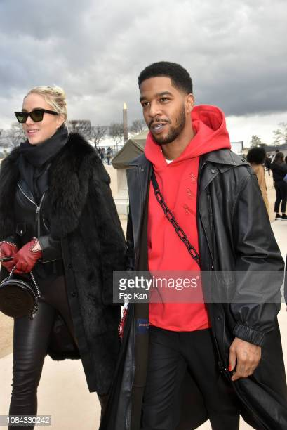 Kid Cudi attends the Louis Vuitton Menswear Fall/Winter 2019-2020 show as part of Paris Fashion Week on January 17, 2019 in Paris, France.