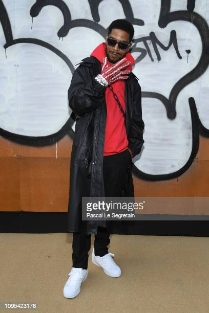 Kid Cudi attends the Louis Vuitton Menswear Fall/Winter 20192020 show as part of Paris Fashion Week on January 17 2019 in Paris France