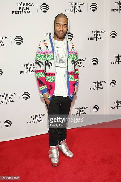 Kid Cudi attends the Vincent N Roxxy Premiere during the 2016 Tribeca Film Festival at Chelsea Bow Tie Cinemas on April 18 2016 in New York City