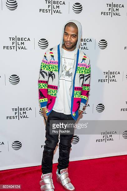 Kid Cudi attends Vincent N Roxxy Premiere during the 2016 Tribeca Film Festival at Chelsea Bow Tie Cinemas on April 18 2016 in New York City