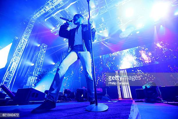 Kid Cudi performs at ComplexCon 2016 on November 5 2016 in Long Beach California