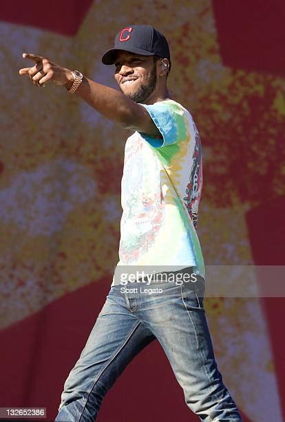 Kid Cudi performs at Orlando Calling Music Festival Day 1 at Florida Citrus Bowl on November 12 2011 in Orlando Florida