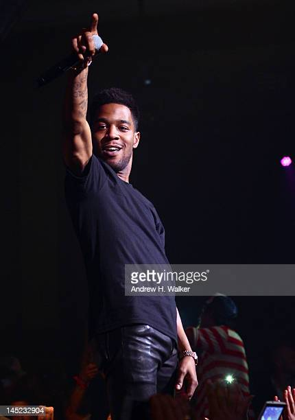 Kid Cudi performs at theCruel Summer After Party hosted Kanye West For The Provocateur pop up At Gotha Club Cannes on May 23 2012 in Cannes France