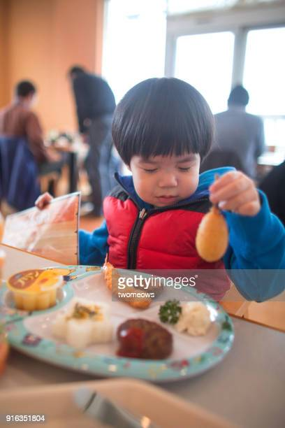 kid dislike food from kid's meal menu. - obsessive stock pictures, royalty-free photos & images