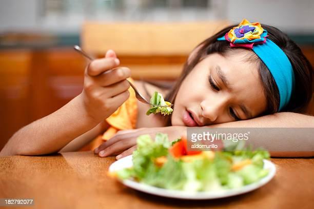 Kid disliking Speisen