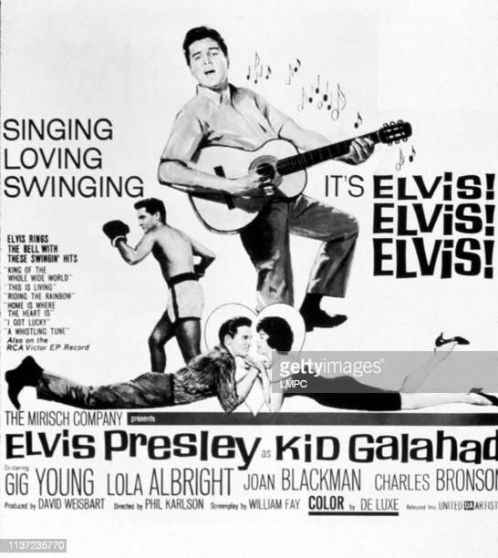 Kid Galahad poster Elvis Presley Joan Blackman 1962