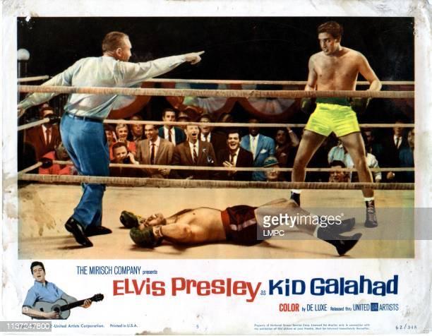 Kid Galahad, poster, from left, Tommy Hart, , Elvis Presley, 1962.