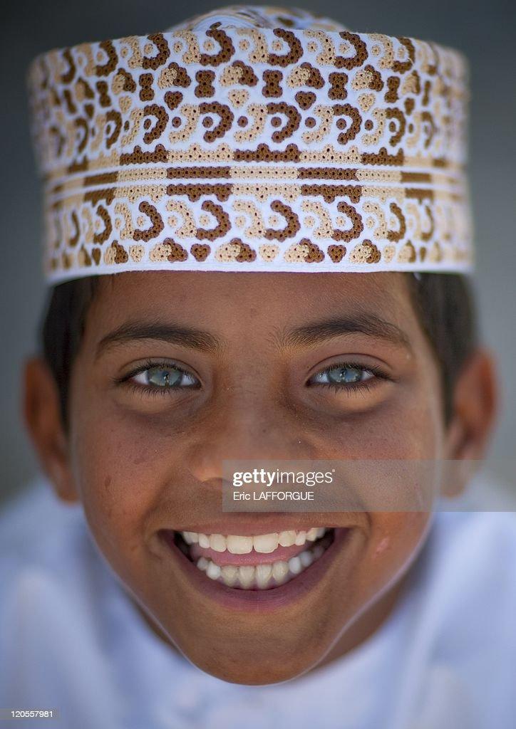 Kid In Masirah Island, Oman On December 18, 2009 - : Nachrichtenfoto