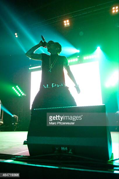 Kid Ink performs during his 'My Own Lane Tour' at the E-Werk on September 05, 2014 in Cologne, Germany.