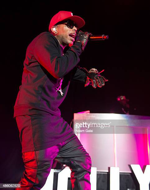 Kid Ink performs in concert at Nikon at Jones Beach Theater on August 30 2015 in Wantagh New York