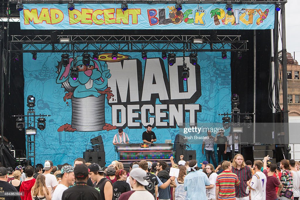 Kid Kamillion performs at Mad Decent Block Party at Mardi Gras World on August 29, 2014 in New Orleans, Louisiana.