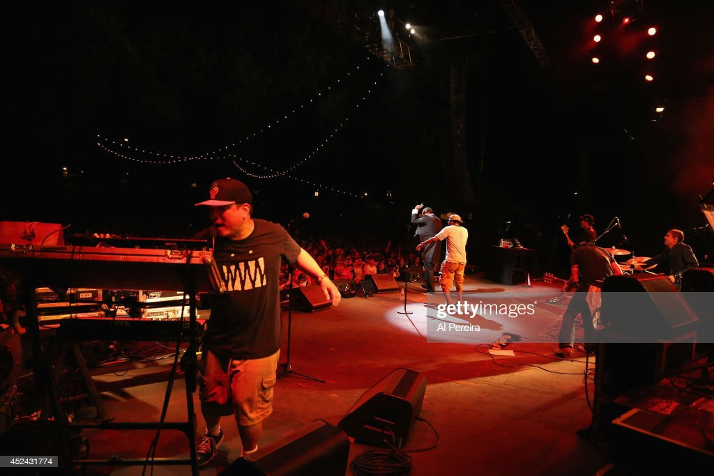 2014 Celebrate Brooklyn! - Deltron 3030 and Nomadic Massive : News Photo