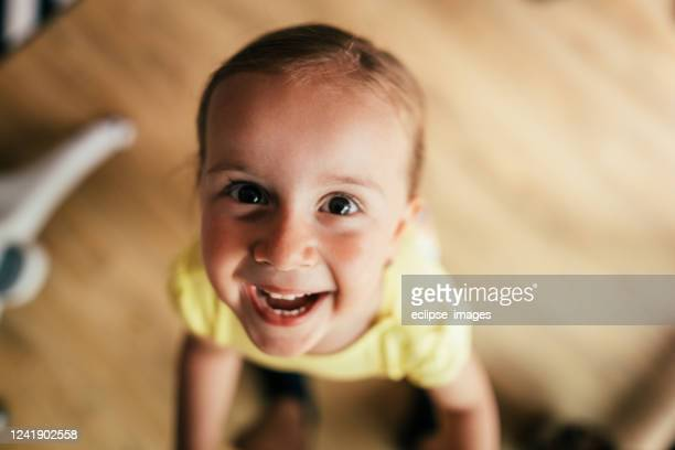 kid making a face - head of state stock pictures, royalty-free photos & images
