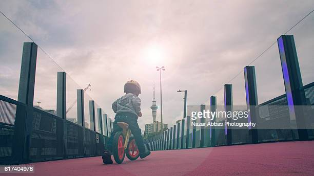 Kid on Bicycle.
