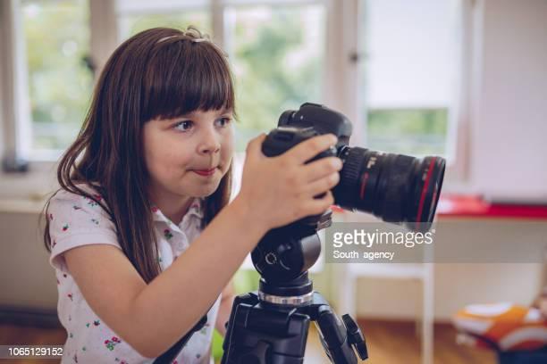 kid fotograaf - wonderkind stockfoto's en -beelden