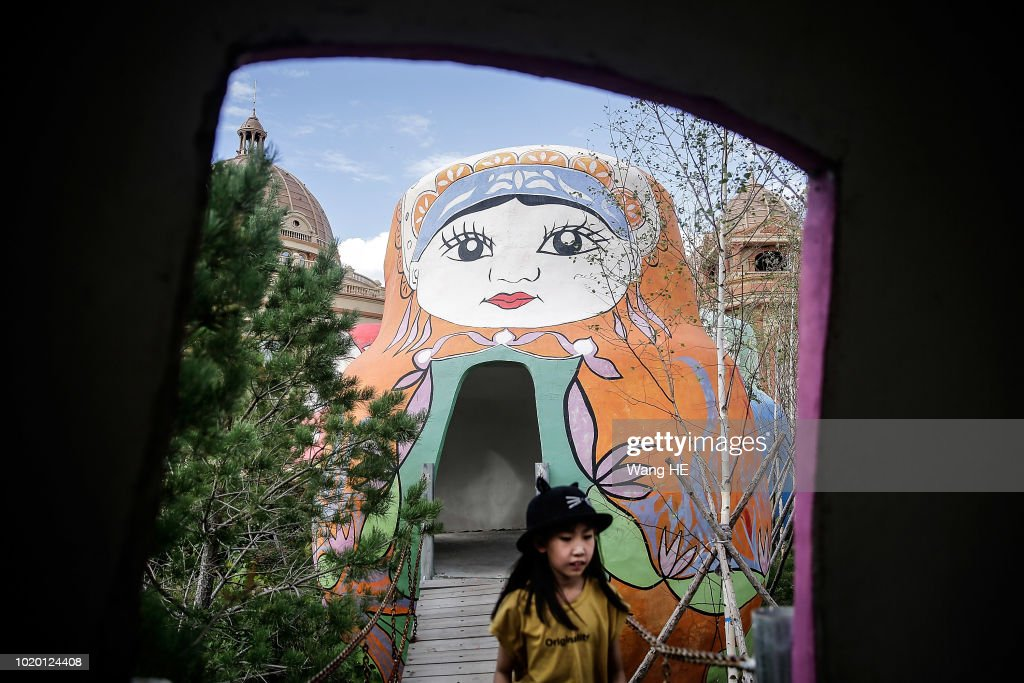 Russian Doll Theme Park In Manzhouli