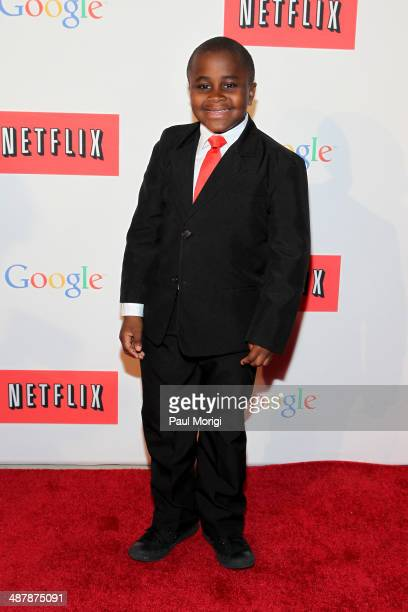 'Kid President' Robby Novak walks the red carpet at Google/Netflix White House Correspondent's Weekend Party at United States Institute of Peace on...
