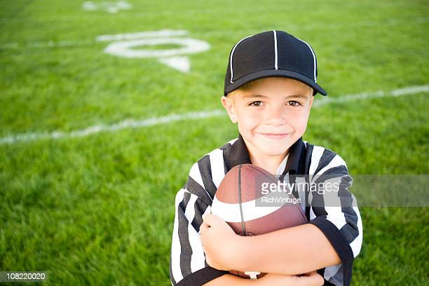kid referee - american football judge stock pictures, royalty-free photos & images