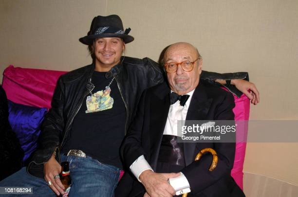Kid Rock and Ahmet Ertegun during Atlantic Records at Warner Music Group 2005 After GRAMMY Awards Party at Pacific Design Center in Los Angeles,...