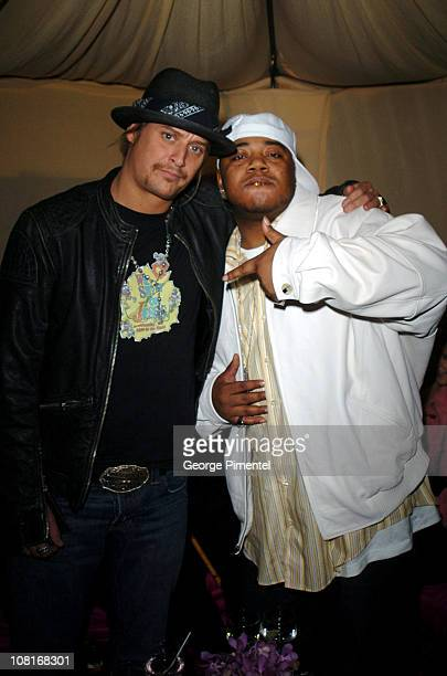 Kid Rock and Twista during Atlantic Records at Warner Music Group 2005 After GRAMMY Awards Party at Pacific Design Center in Los Angeles, California,...