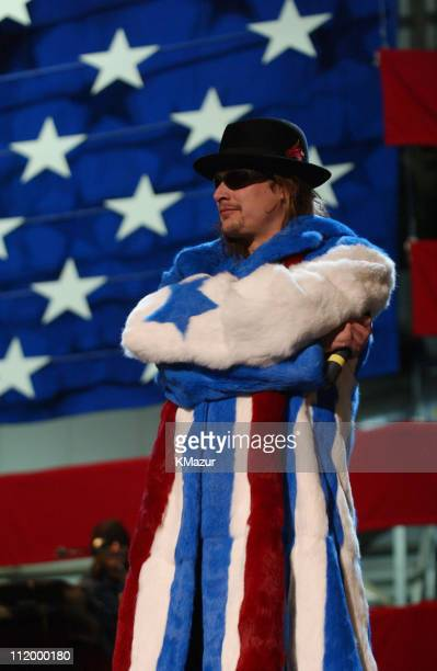 Kid Rock at Ramstein Air Base in Germany Saturday Dec 8 for United States servicemen in partnership between MTV US and the USO in conjuction with...