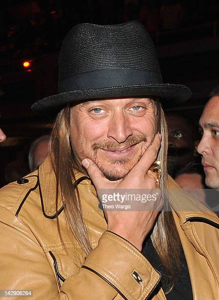 Kid Rock attends the 27th Annual Rock And Roll Hall Of Fame Induction Ceremony at Public Hall on April 14, 2012 in Cleveland, Ohio.