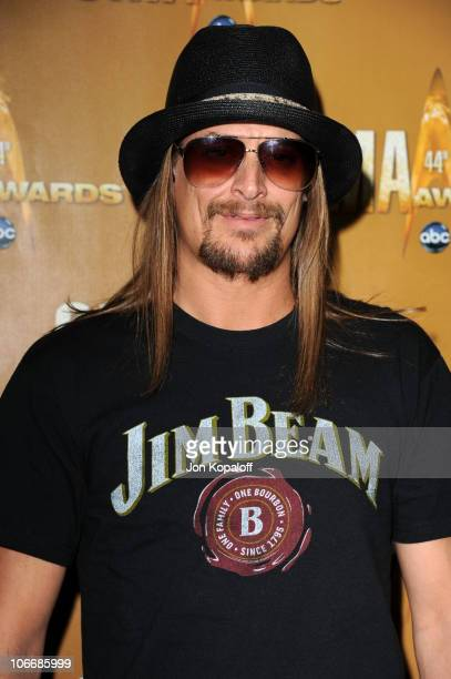 Kid Rock attends the 44th Annual CMA Awards at the Bridgestone Arena on November 10 2010 in Nashville Tennessee