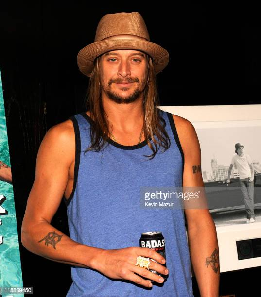 Kid Rock attends the 'Born Free' platinum party at The Hotel on Rivington Penthouse on July 11 2011 in New York City