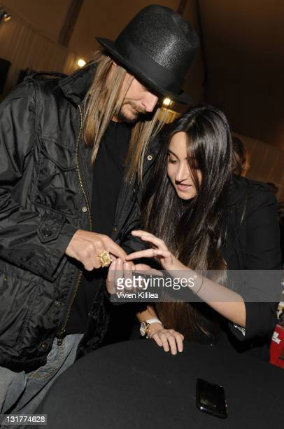 Kid Rock attends the Official AMA Backstage Boutique Day 3 at LA Live on November 21 2010 in Los Angeles California