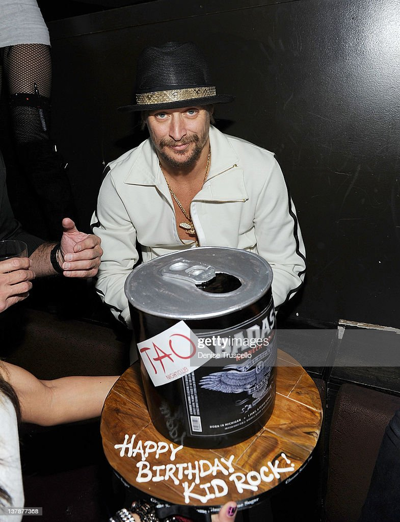 Kid Rock After Concert Party At TAO Nightclub : News Photo