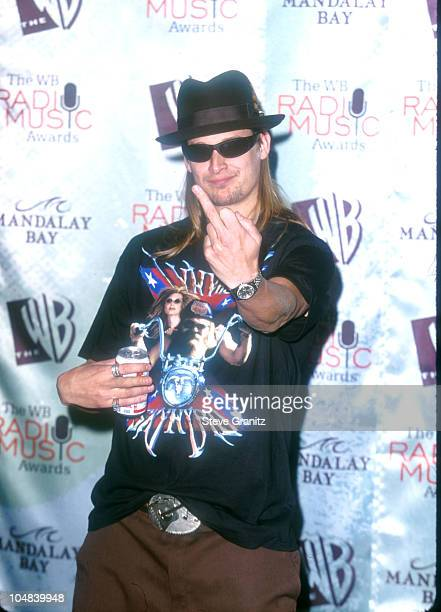 Kid Rock during The 1999 Radio Music Awards at Mandalay Bay Resort Casino in Las Vegas Nevada United States