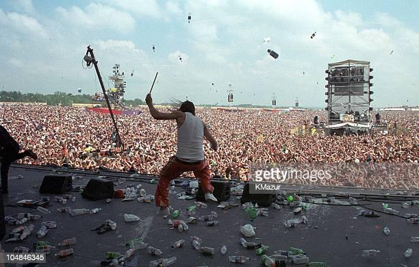 Kid Rock during Woodstock '99 in Saugerties New York in Saugerties New York United States