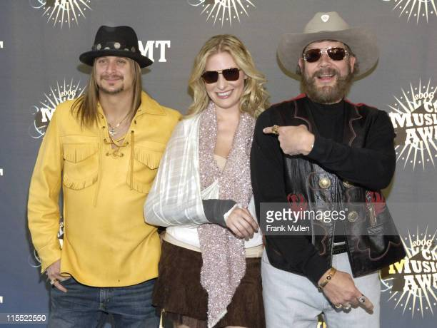 Kid Rock, Holly Williams and Hank Williams, Jr. During 2006 CMT Music Awards - Arrivals at Curb Event Center at Belmont University in Nashville,...