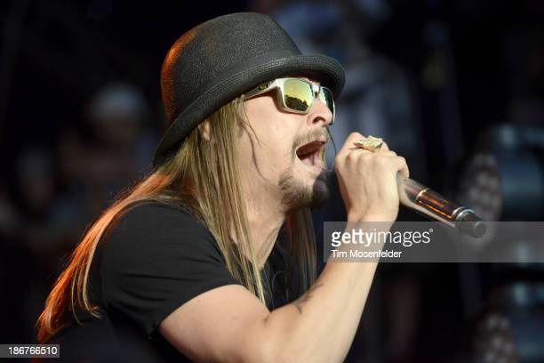 Kid Rock performs as part of the 2013 Voodoo Music Experience at City Park on November 3 2013 in New Orleans Louisiana