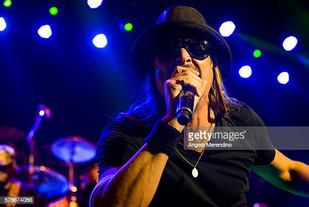 Kid Rock performs at Jacobs Pavilion on July 21 2016 in Cleveland Ohio