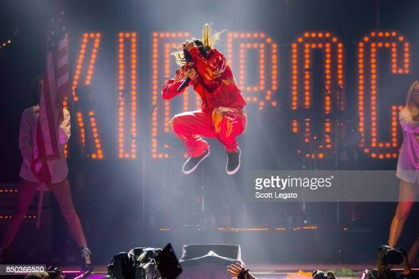 Kid Rock performs at Little Caesars Arena on September 20 2017 in Detroit Michigan