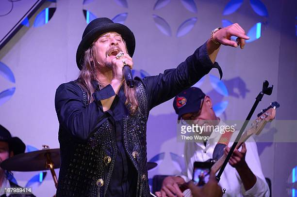 Kid Rock performs at the Barnstable Brown Gala hosted by GREY GOOSE at Barnstable Brown House on May 3 2013 in Louisville Kentucky