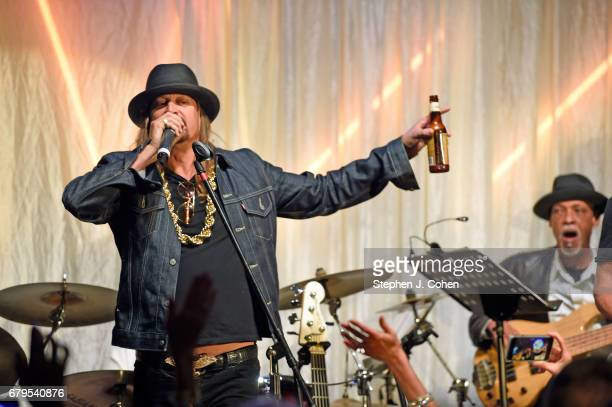 Kid Rock performs during the 29th Barnstable Brown Kentucky Derby Eve Gala on May 5 2017 in Louisville Kentucky