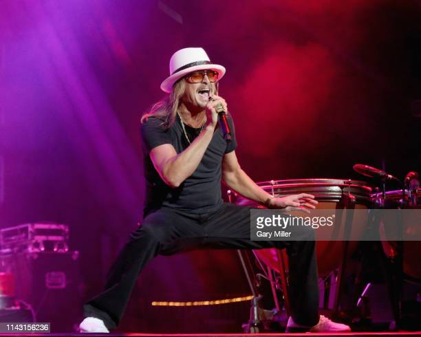 Kid Rock performs in concert during day two of KAABOO Texas at ATT Stadium on May 11 2019 in Arlington Texas