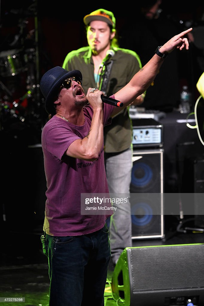 Kid Rock performs onstage as Live Nation Celebrates National Concert Day At Their 2015 Summer Spotlight Event Presented By Hilton at Irving Plaza on May 5, 2015 in New York City.