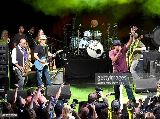 Kid Rock performs onstage as Live Nation Celebrates National Concert Day At Their 2015 Summer Spotlight Event Presented By Hilton at Irving Plaza on...