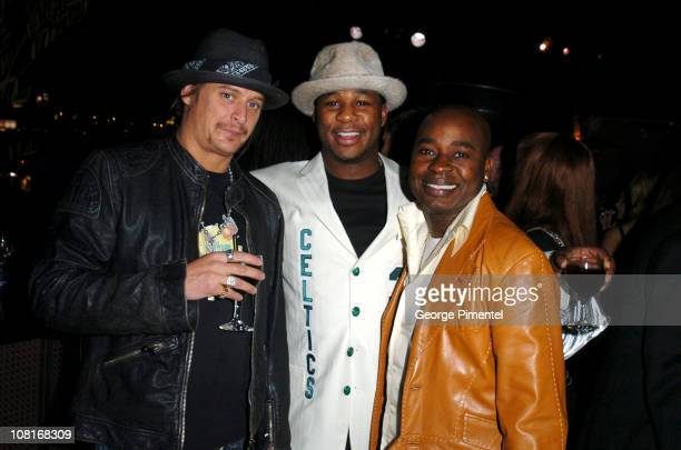 Kid Rock, Robert Randolph and Chris Aire during Atlantic Records at Warner Music Group 2005 After GRAMMY Awards Party at Pacific Design Center in Los...