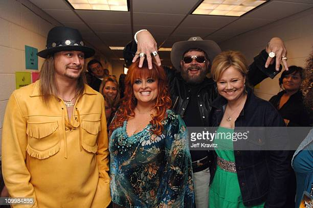 Kid Rock Wynonna Judd Hank Williams Jr and Caroline Rhea