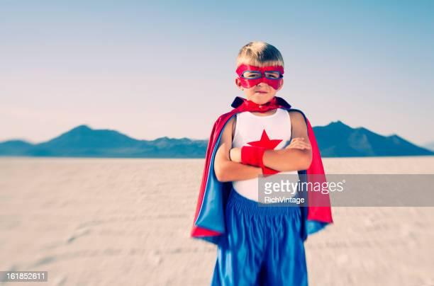 Kid superhéroe