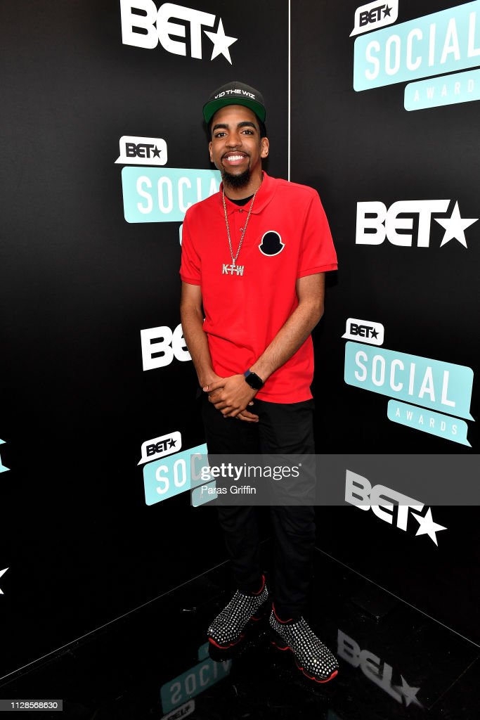 Kid The Wiz attends the 2019 BET Social Awards at Tyler