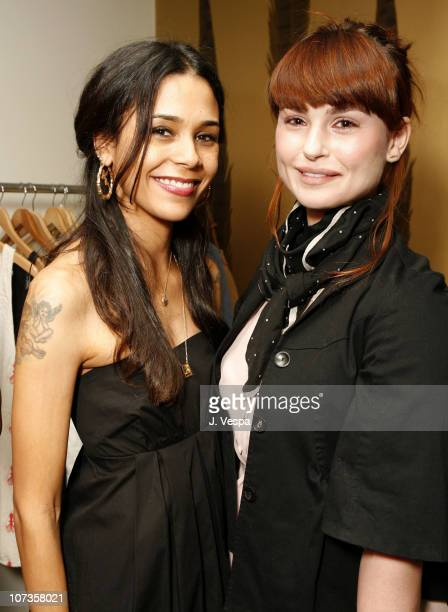 Kidada Jones and Aimee Osbourne during Cavern Wallpaper and Kidada for Disney Coutour Celebrate Their New Collections at Kaviar and Kind in West...